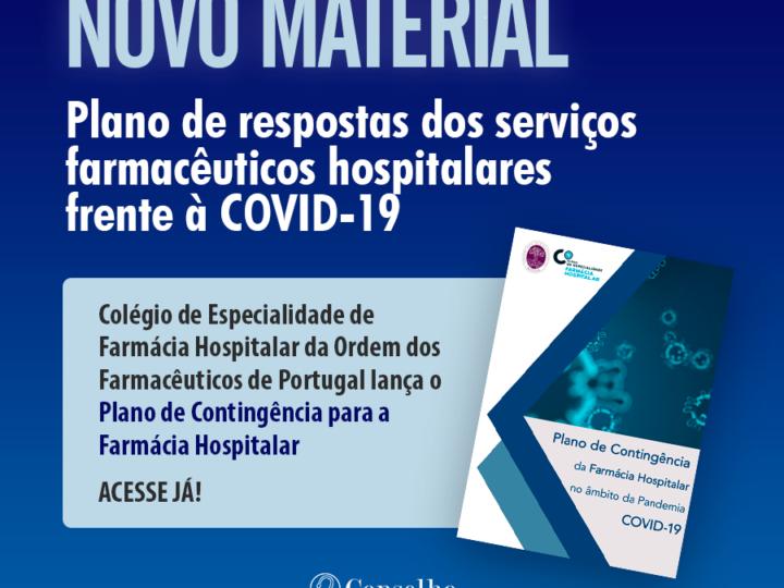 Plano de Contigência para a Farmácia Hospitalar